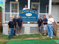 Food Pantry Repainting